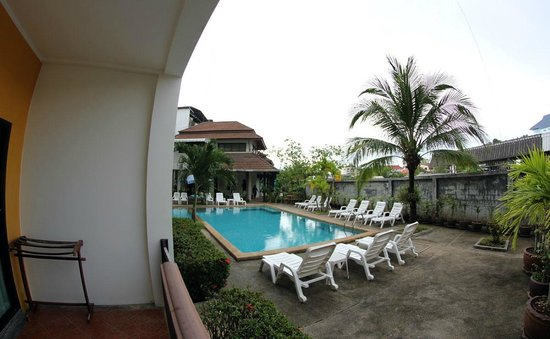 Krabi Cozy Place Hotel: Room with pool view