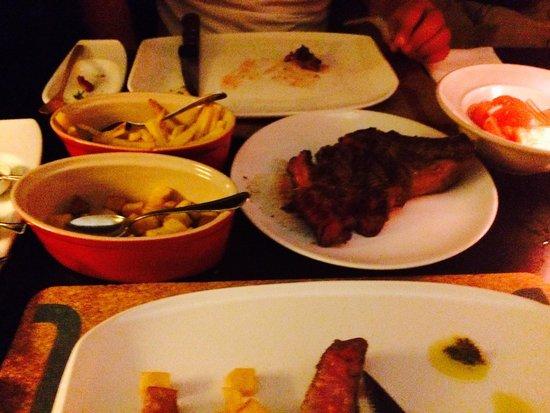 Volver de Carne Y Alma : Dinner