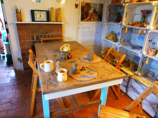 Eastnor Pottery & The Flying Potter : Our creations, before painting