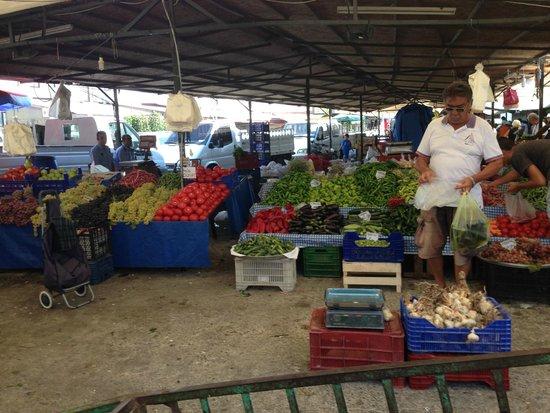 Bodrum Bazaar: Bodrum pazarı rengarenk