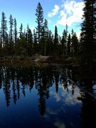 Canmore, Canada: Mirror Like Reflections on Grassi Lakes