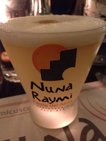 Nuna Raymi: One of the best pisco sours I've had!