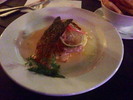 Kacy's Restaurant: Lime & Pickled Ginger Salmon