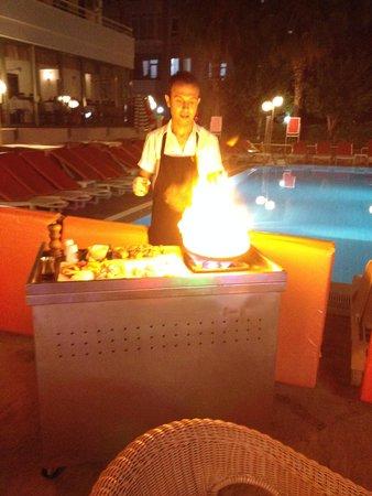 Sifalar Apart Hotel: Restaurant
