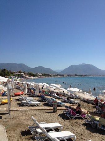 Sifalar Apart Hotel: Stranden