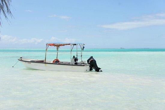Fakarava, French Polynesia: Mon bateau sur le lagon