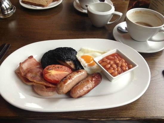 The Badger Inn: Full English.