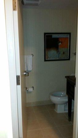 دبل تري سويتس باي هيلتون هوتل بوسطن: Clean Bathroom