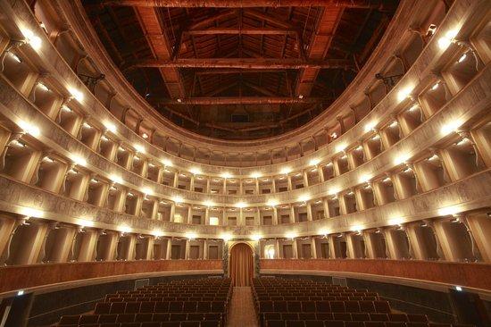 Social Theater of Bergamo : Interno Teatro Sociale - Bergamo Alta