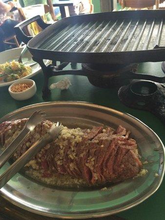 Bar Do Juarez Moema: Picanha temperada e a chapa quente!