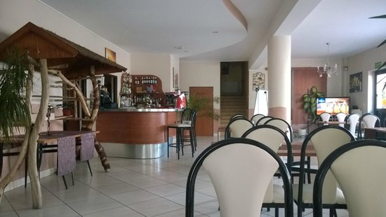 Mielec, Poland: The bright and cheery dining area