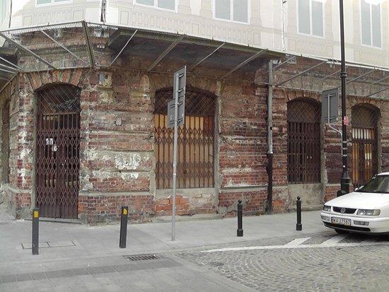 Prozna Street (Ulica Prozna): Beginning of Street