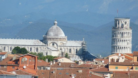 B&B Scotto: View of the leaning Tower and Cathedral from Scotto's B&B