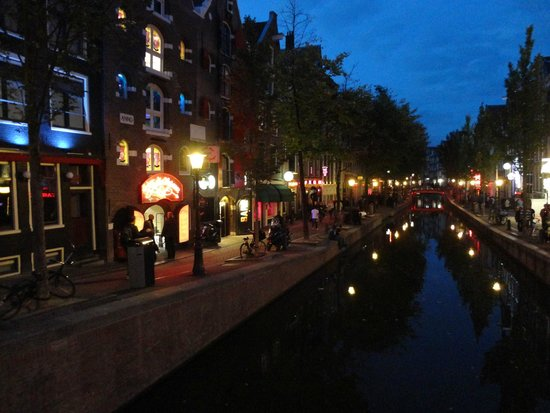 Private Canal Tour Red Light District