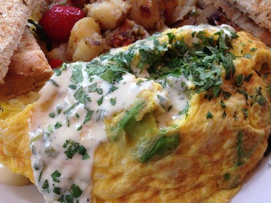 Rosie's Bar & Grill : Crab Omelet