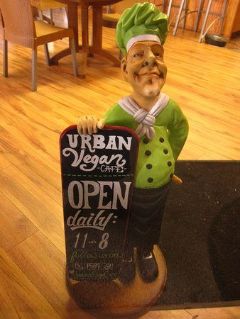 The Urban Vegan: Hours for Urban Vegan Cafe