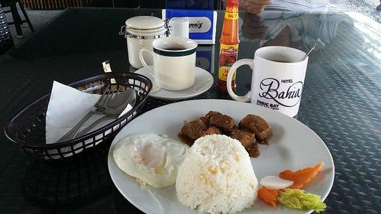 Hotel Bahia Subic : Complimentary breakfast