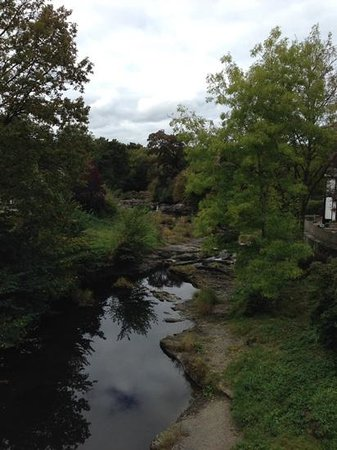 Berriew, UK: river nearby
