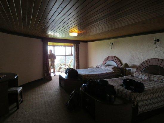 Ngorongoro Sopa Lodge: Inside the Room