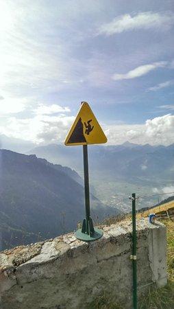 Rochers-de-Naye: Falling hazard