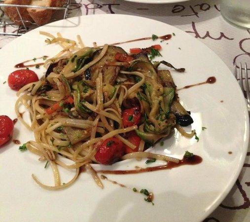 Les Champs de Ble: linguines légumes croquants
