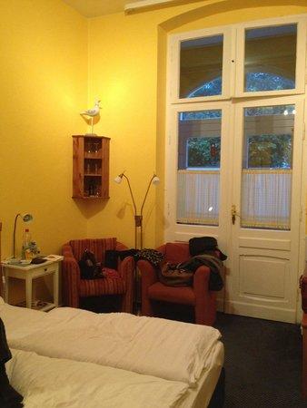 Hotel Villa Seeschlösschen: Zimmer 'Promenade'