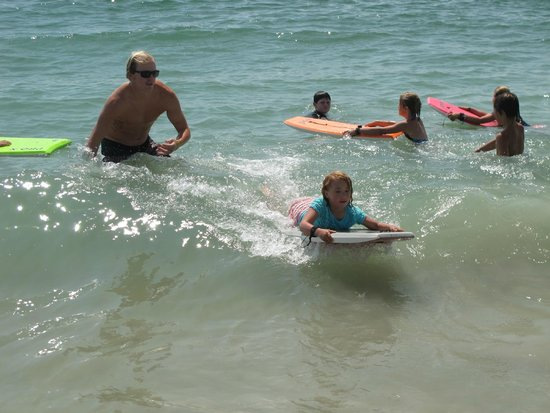 EcoVentures : Learning to boogie-board!