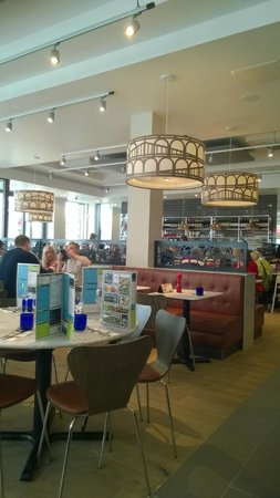 Locally Inspired Picture Of Pizza Express Telford