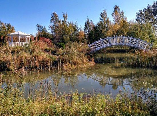Vars, Canada: Pond area