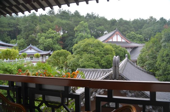Guilinyi Royal Palace: View from our balcony