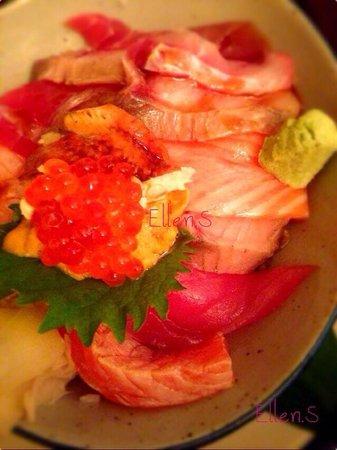 Sushi You: お昼定食C シェフお任せ丼