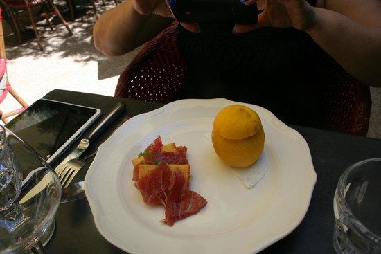 Le bistrot du Moulin : Thon et citron