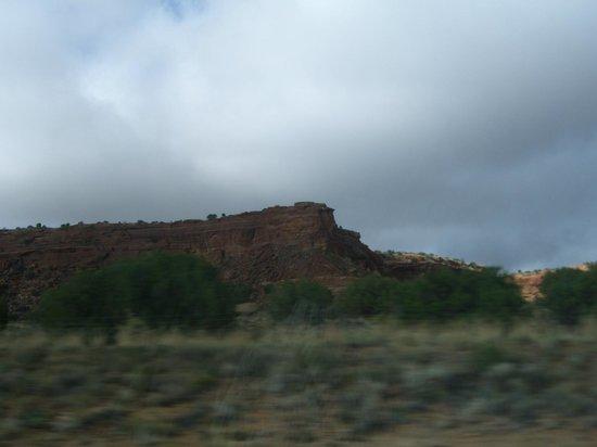Days Inn Gallup: surrounding landscape