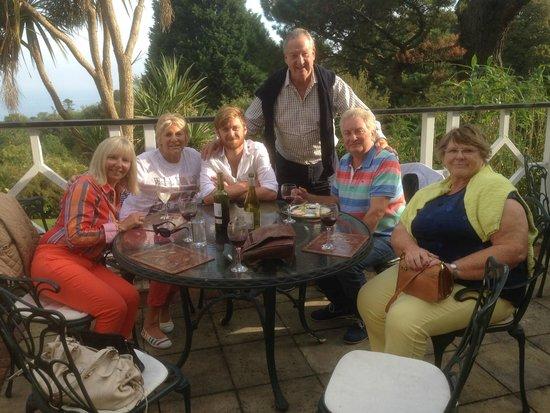 The Orestone Manor: al fesco `aperitivos