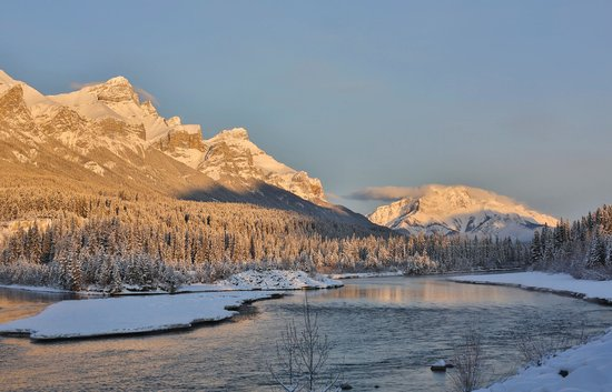 Canmore, Canada: Mount Rundle