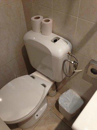 Auriane Porte de Versailles : Toilette cassé