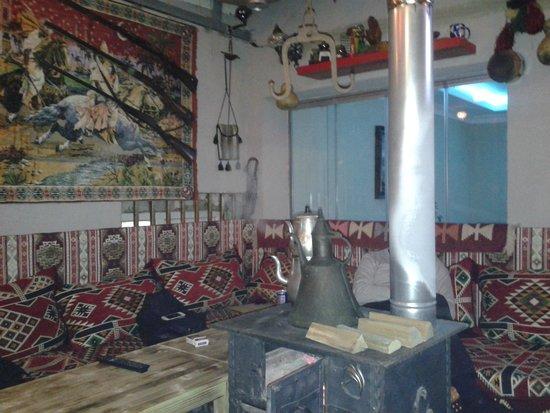 Serene Hotel Istanbul: saletta breakfast
