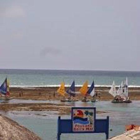 Pousada Beira Mar : Com maré baixa