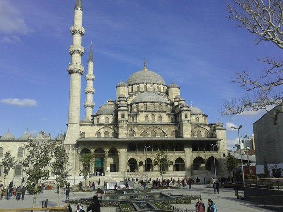 Serene Hotel Istanbul: moschea