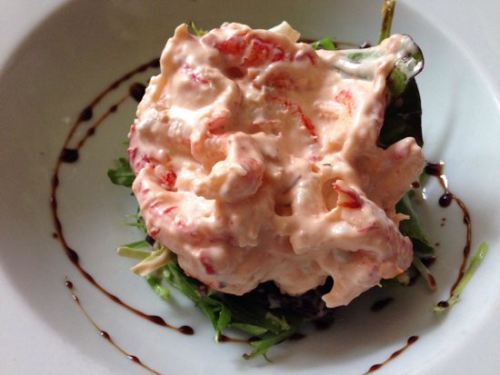 The Lime House: Crayfish timbale