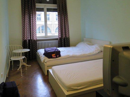 Frankfurt Hostel: Bedroom