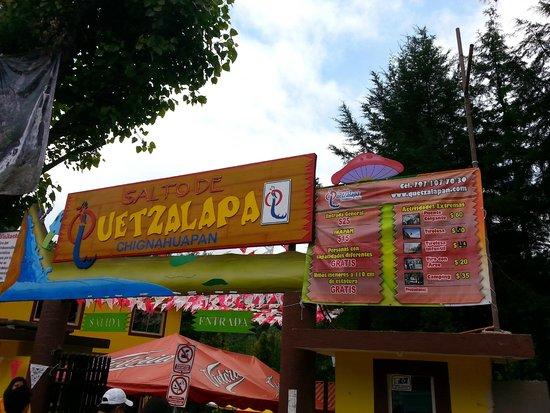 Cascadas Quetzalapan: Entrada a las Cascadas de Quetzalapa