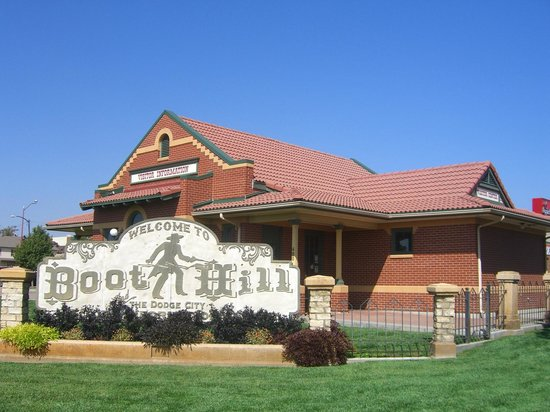 Boot Hill Museum: welcome tourist center