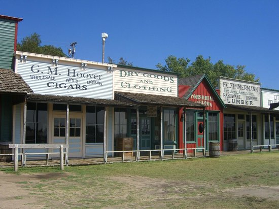 Boot Hill Museum: old downtown dodge