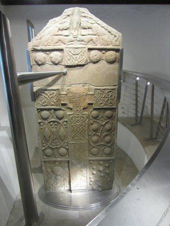 Nigg Old Church: The Nigg Stone