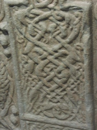 Nigg Old Church: Carving on the Nigg Stone