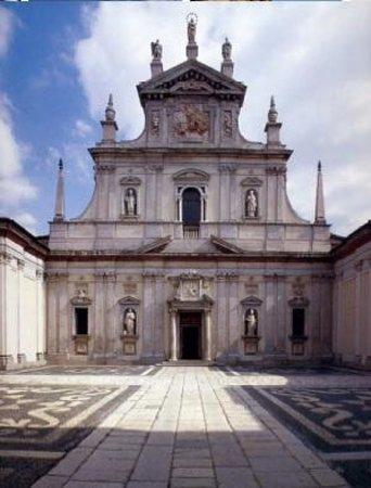 Certosa di Milano: Facciata