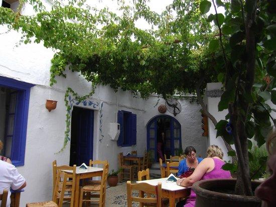 Gelo Blu : A shady courtyard