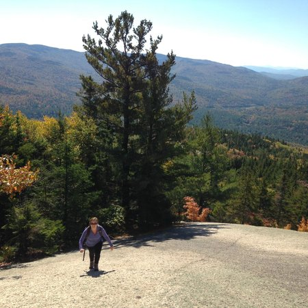 Welch Mountain and Dickey Mountain Loop: Steep incline!