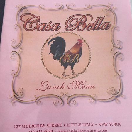 Casa Bella Restaurant: Great !!